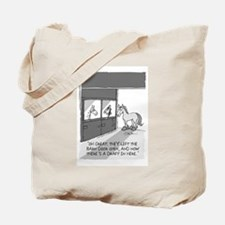Near Side: A Draft in Here Tote Bag