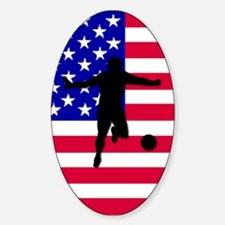 USA World Cup 2006 Oval Decal