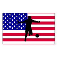 USA World Cup 2006 Rectangle Decal