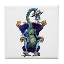 dragon king tile coaster