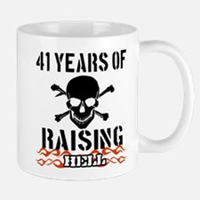 41 Years of Raising Hell Mug