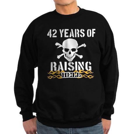 42 Years of Raising Hell Sweatshirt (dark)