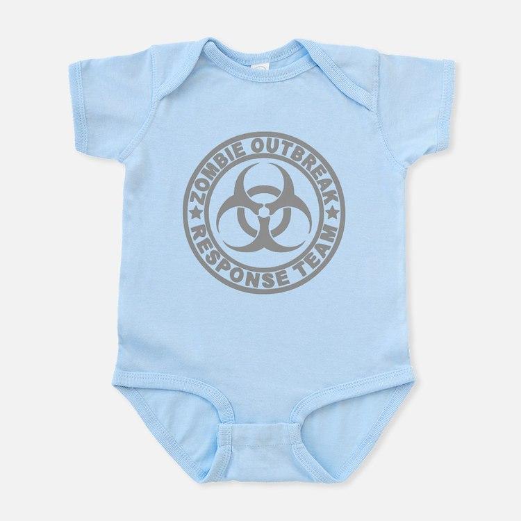 Zombie Outbreak Response Team Infant Bodysuit