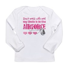 Don't Mess with Me (Air Force Long Sleeve Infant T