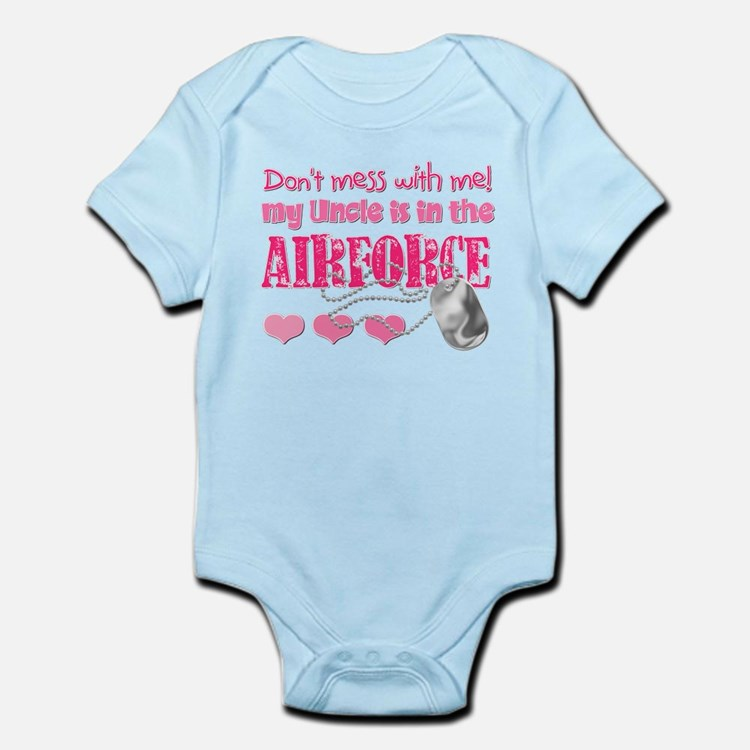 Don't Mess with Me (Air Force Infant Bodysuit