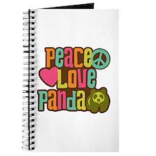 Peace Love Panda Journal