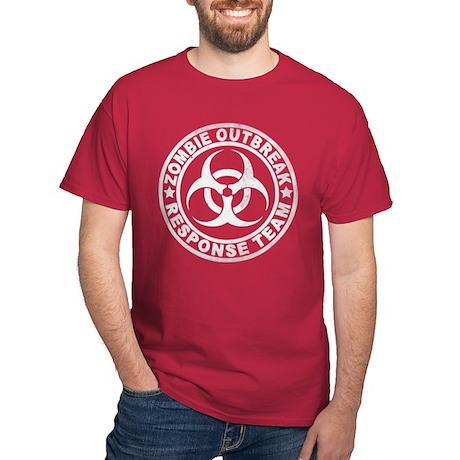 Zombie Outbreak Response Team Dark T-Shirt