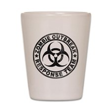 Zombie Outbreak Response Team Shot Glass