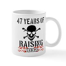 47 Years of Raising Hell Mug
