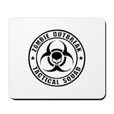 Zombie Outbreak Technical Squad Mousepad