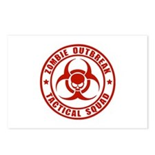 Zombie Outbreak Technical Squad Postcards (Package