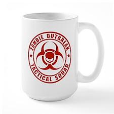 Zombie Outbreak Technical Squad Mug