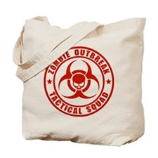 Zombie Outbreak Technical Squad Tote Bag