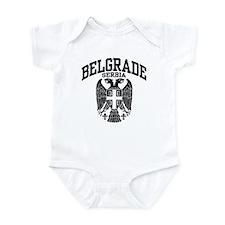 Belgrade Serbia Onesie