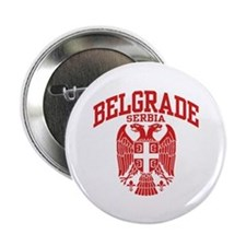 "Belgrade Serbia 2.25"" Button"