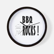 BBQ Rocks ! Wall Clock