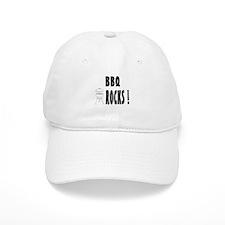 BBQ Rocks ! Baseball Cap