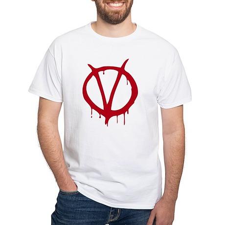 Vendetta White T-Shirt