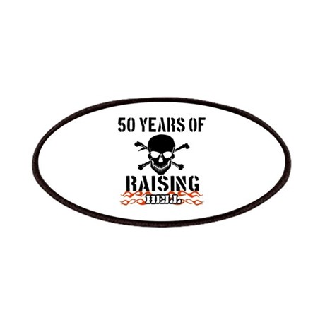 50 Years of Raising Hell Patches