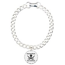 Instant Pirate Charm Bracelet, One Charm