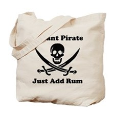 Instant Pirate Tote Bag