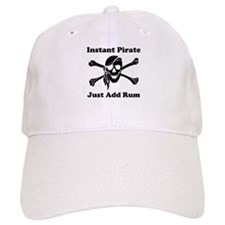 Instant Pirate Baseball Cap