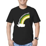 She's My Other Half Irish Rainbow Men's Fitted T-S