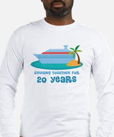 20th Annivesrary Cruise Ship Long Sleeve T-Shirt