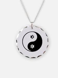 YinYang Paws Necklace