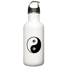 YinYang Paws Water Bottle