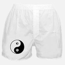 YinYang Paws Boxer Shorts