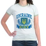 Ukraine Kiev Jr. Ringer T-Shirt