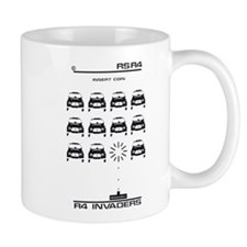 Renault 4 Invaders Mug