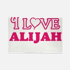 I Love Alijah Magnets