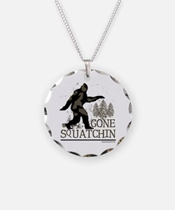 Gone Squatchin Necklace