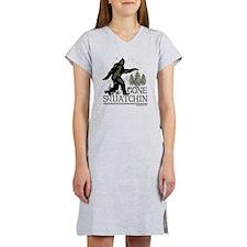 Gone Squatchin Women's Nightshirt