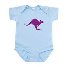 Hopping Kangaroo Infant Bodysuit