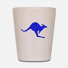 Hopping Kangaroo Shot Glass