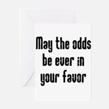 May the odds be Ever in Your Greeting Cards (Pk of