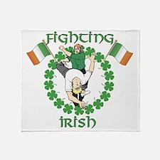 Fighting Irish Throw Blanket