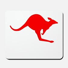 Hopping Kangaroo Mousepad