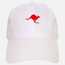 Hopping Kangaroo Baseball Baseball Cap