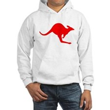 Hopping Kangaroo Hoodie