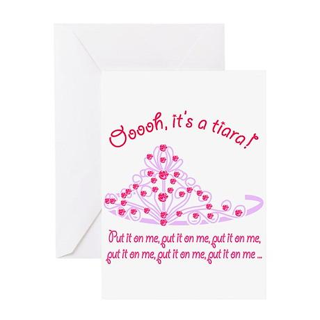 It's a tiara! Greeting Card