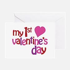 My 1st Valentine's Day Greeting Card