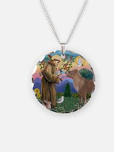 StFrancis-Pony Necklace