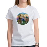 StFrancis-Pony Women's T-Shirt