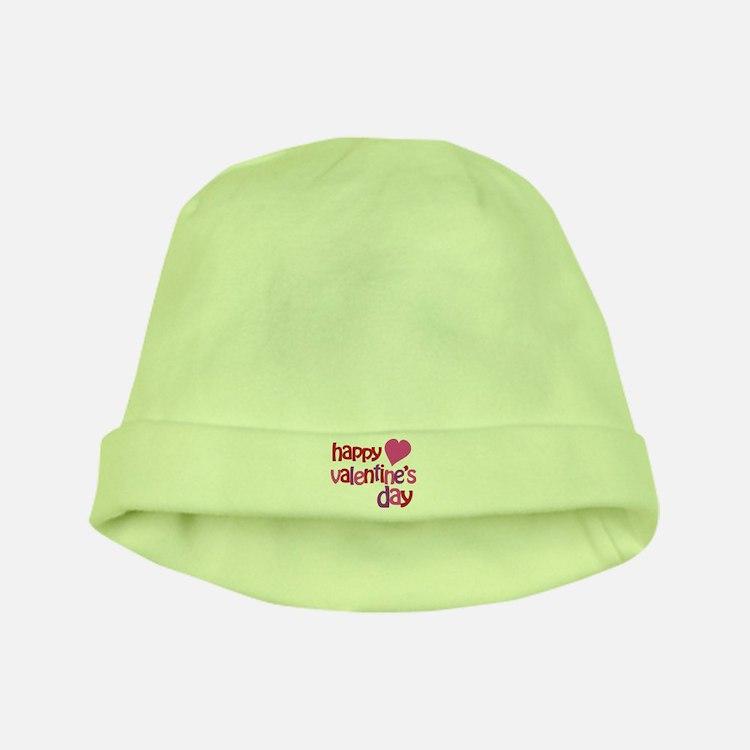 Happy Valentine's Day baby hat