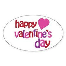 Happy Valentine's Day Decal
