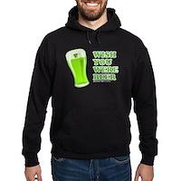 Wish You Were Beer Hoodie (dark)